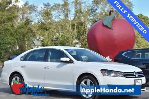 2015 Volkswagen Passat for sale at APPLE HONDA in Riverhead NY