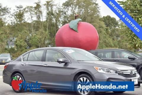 2017 Honda Accord Hybrid for sale at APPLE HONDA in Riverhead NY