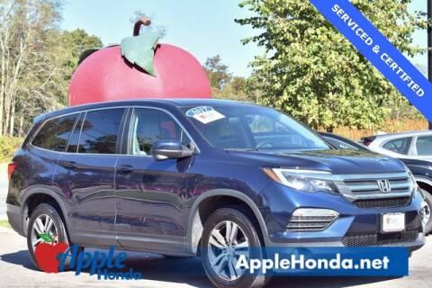 2017 Honda Pilot for sale at APPLE HONDA in Riverhead NY