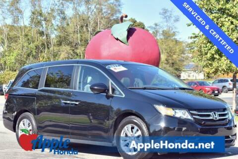 2017 Honda Odyssey for sale at APPLE HONDA in Riverhead NY