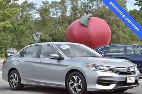 2017 Honda Accord for sale at APPLE HONDA in Riverhead NY