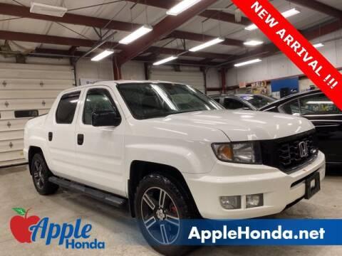 2014 Honda Ridgeline for sale at APPLE HONDA in Riverhead NY