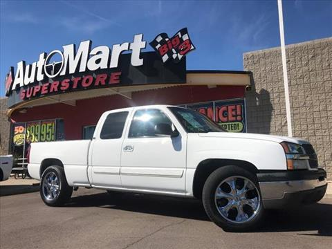 2003 Chevrolet Silverado 1500 for sale in Chandler, AZ
