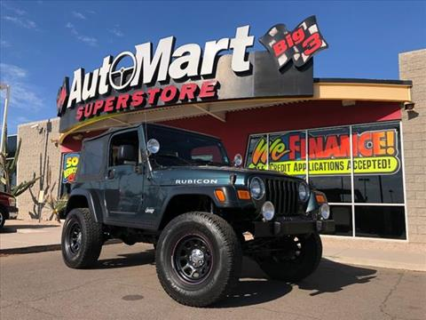 2005 Jeep Wrangler for sale in Chandler, AZ