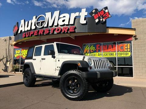 2009 Jeep Wrangler Unlimited for sale in Chandler, AZ
