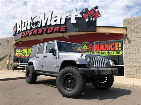 2013 Jeep Wrangler Unlimited for sale in Chandler, AZ