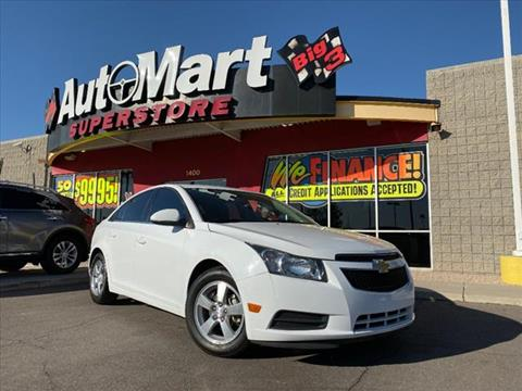 2013 Chevrolet Cruze for sale in Chandler, AZ