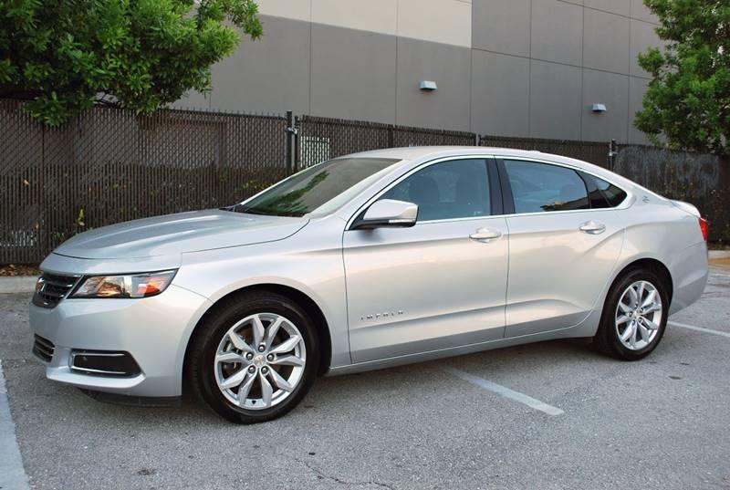 2016 Chevrolet Impala for sale at Palm Beach Automotive Sales in West Palm Beach FL