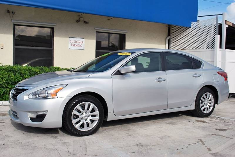 2013 Nissan Altima for sale at Palm Beach Automotive Sales in West Palm Beach FL