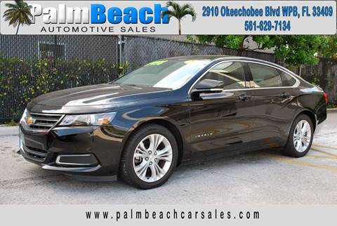 2015 Chevrolet Impala for sale at Palm Beach Automotive Sales in West Palm Beach FL
