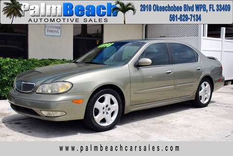 2000 Infiniti I30 for sale at Palm Beach Automotive Sales in West Palm Beach FL