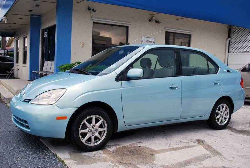 2002 Toyota Prius for sale at Palm Beach Automotive Sales in West Palm Beach FL