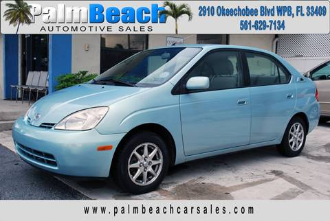 2002 Toyota Prius for sale in West Palm Beach, FL