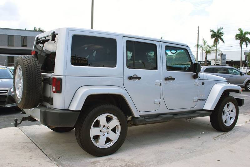 2011 Jeep Wrangler Unlimited for sale at Palm Beach Automotive Sales in West Palm Beach FL