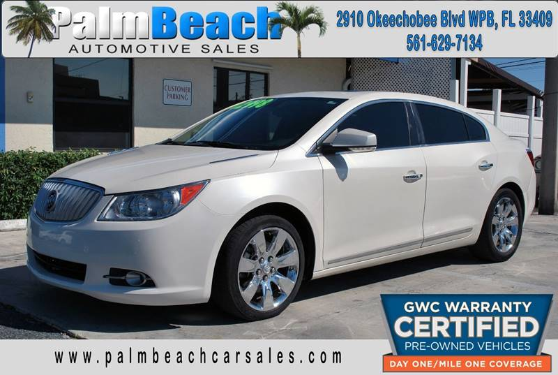 2012 Buick LaCrosse for sale at Palm Beach Automotive Sales in West Palm Beach FL
