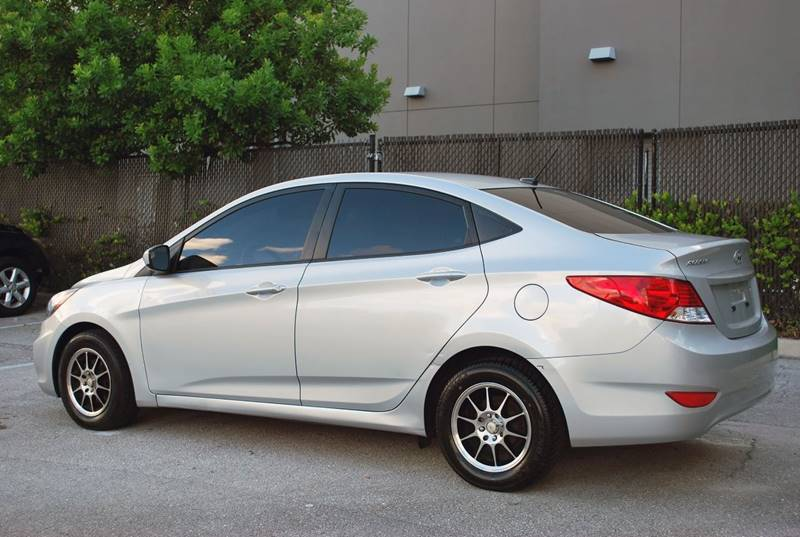 2014 Hyundai Accent for sale at Palm Beach Automotive Sales in West Palm Beach FL