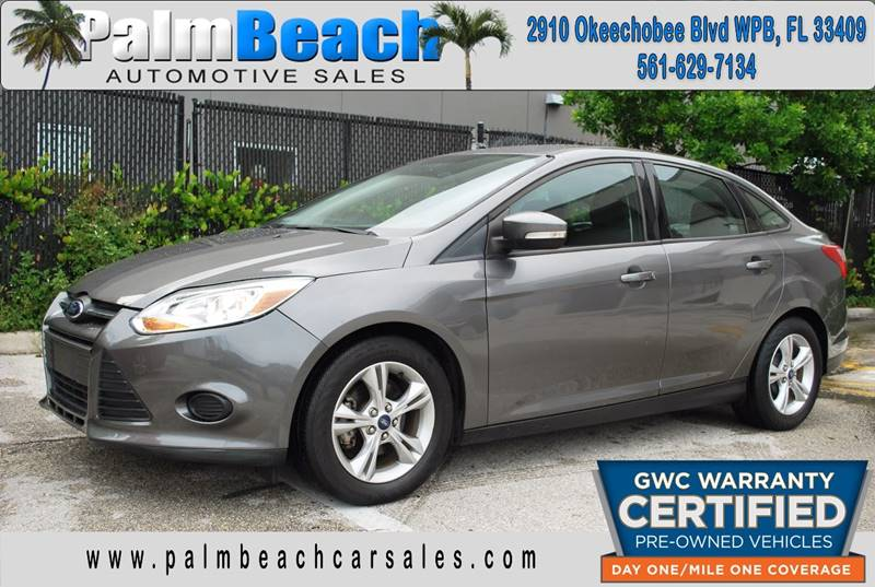 2013 Ford Focus for sale at Palm Beach Automotive Sales in West Palm Beach FL