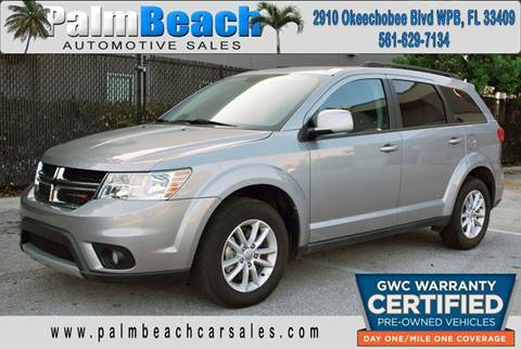 2015 Dodge Journey for sale at Palm Beach Automotive Sales in West Palm Beach FL