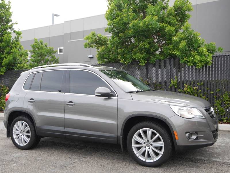 2011 Volkswagen Tiguan for sale at Palm Beach Automotive Sales in West Palm Beach FL