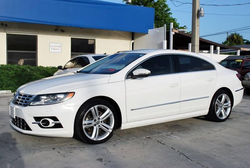 2014 Volkswagen CC for sale at Palm Beach Automotive Sales in West Palm Beach FL