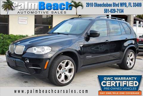 2012 BMW X5 for sale at Palm Beach Automotive Sales in West Palm Beach FL