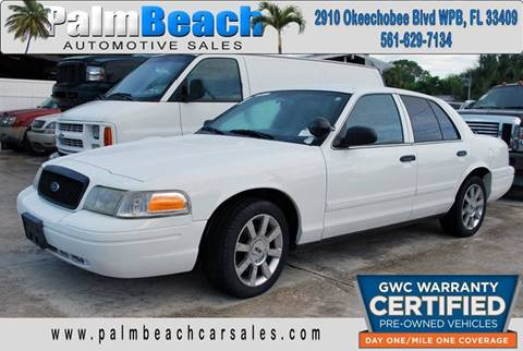 2009 Ford Crown Victoria for sale at Palm Beach Automotive Sales in West Palm Beach FL