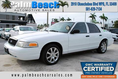 2009 Ford Crown Victoria for sale in West Palm Beach, FL