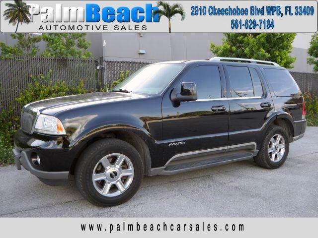 2004 Lincoln Aviator for sale at Palm Beach Automotive Sales in West Palm Beach FL