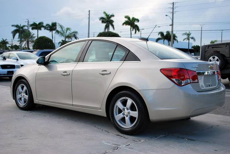 2015 Chevrolet Cruze for sale at Palm Beach Automotive Sales in West Palm Beach FL