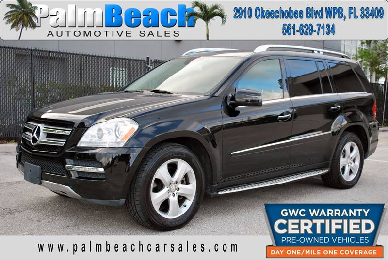 2012 Mercedes Benz GL Class For Sale At Palm Beach Automotive Sales In West