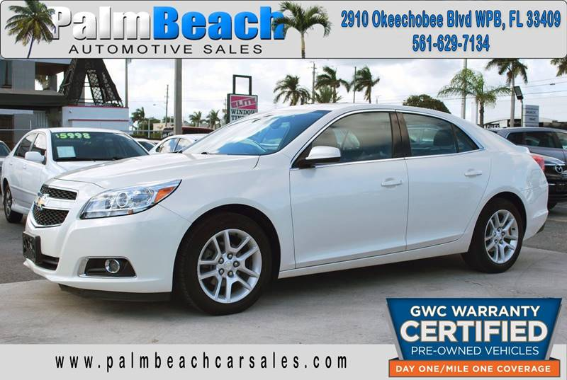 2013 Chevrolet Malibu For Sale At Palm Beach Automotive Sales In West Palm  Beach FL