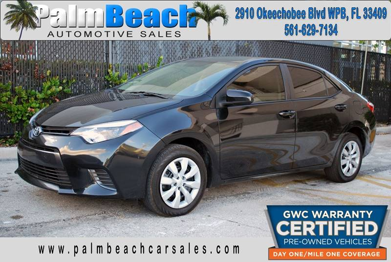 2016 Toyota Corolla For Sale At Palm Beach Automotive Sales In West Palm  Beach FL