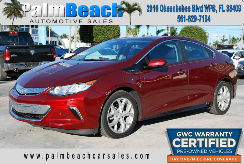 2017 Chevrolet Volt For Sale At Palm Beach Automotive Sales In West Palm  Beach FL