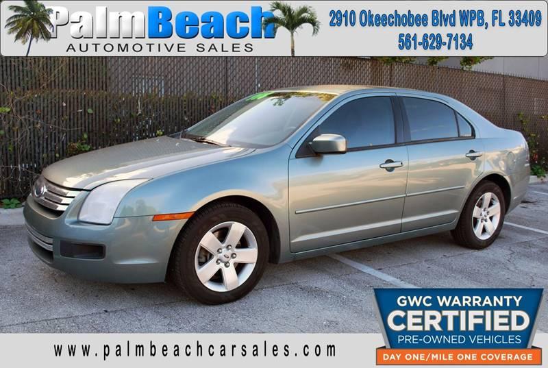 Ford Fusion I SE In West Palm Beach FL Palm Beach - 2006 fusion