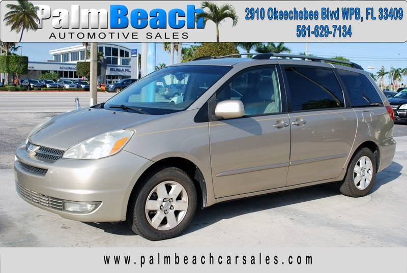2004 Toyota Sienna For Sale At Palm Beach Automotive Sales In West FL