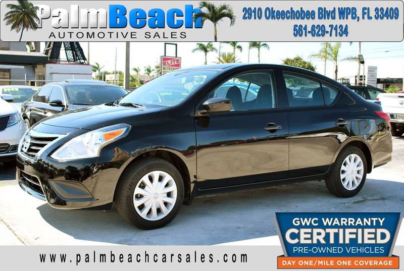 2017 Nissan Versa For Sale At Palm Beach Automotive Sales In West Palm  Beach FL