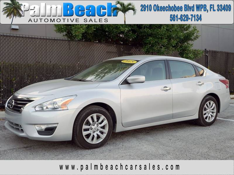 2015 Nissan Altima For Sale At Palm Beach Automotive Sales In West Palm  Beach FL
