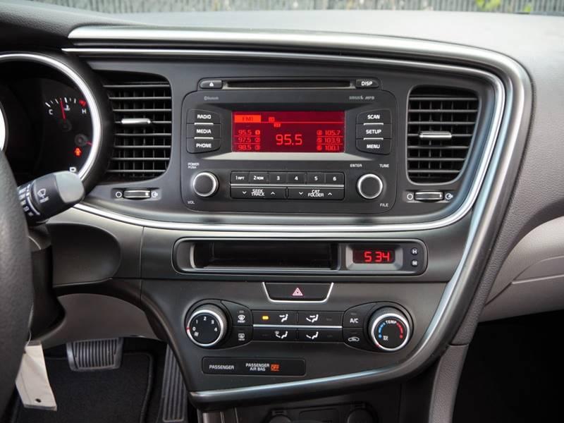 2014 Kia Optima for sale at Palm Beach Automotive Sales in West Palm Beach FL
