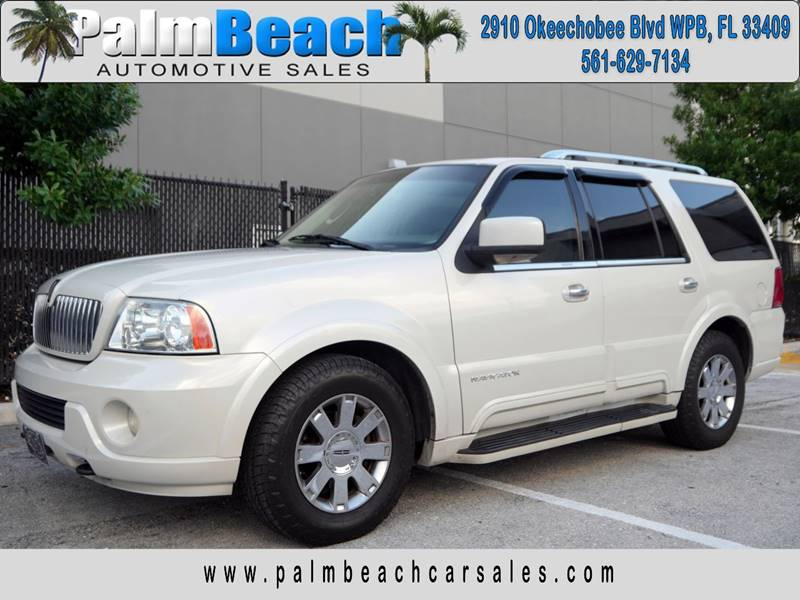 2004 lincoln navigator luxury in west palm beach fl palm beach automotive sales. Black Bedroom Furniture Sets. Home Design Ideas