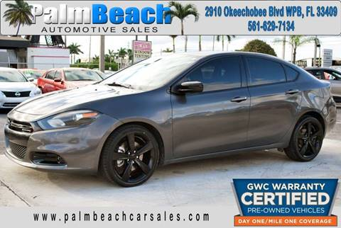 2015 Dodge Dart for sale in West Palm Beach, FL