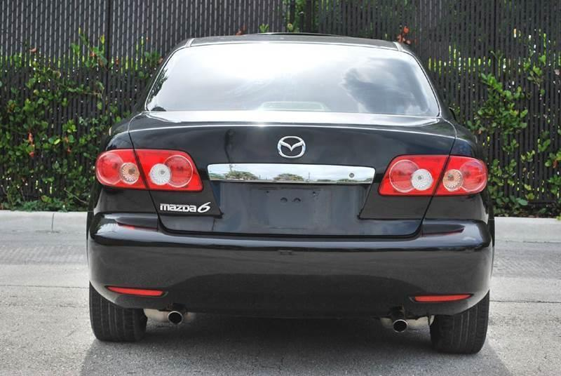 2003 Mazda MAZDA6 for sale at Palm Beach Automotive Sales in West Palm Beach FL