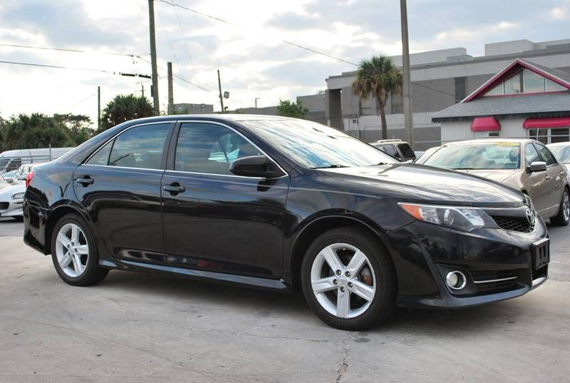 2013 Toyota Camry for sale at Palm Beach Automotive Sales in West Palm Beach FL