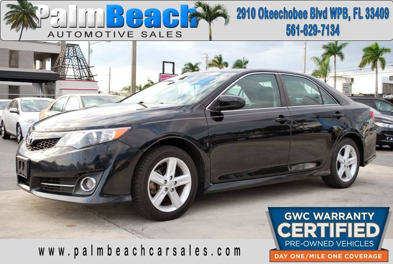 Superb 2013 Toyota Camry For Sale At Palm Beach Automotive Sales In West Palm  Beach FL