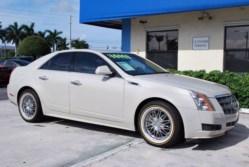2011 Cadillac CTS for sale at Palm Beach Automotive Sales in West Palm Beach FL