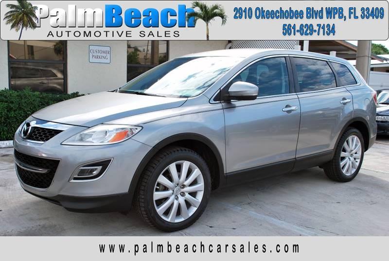 2010 Mazda CX-9 for sale at Palm Beach Automotive Sales in West Palm Beach FL