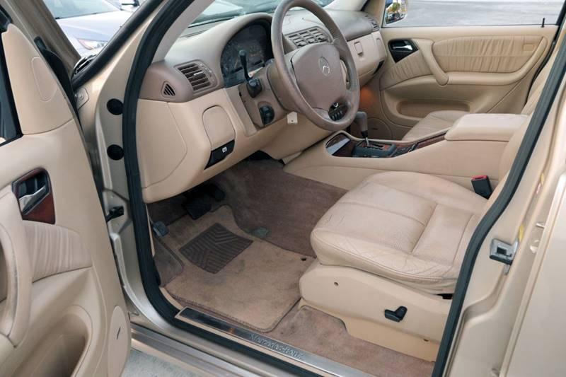2004 Mercedes-Benz M-Class for sale at Palm Beach Automotive Sales in West Palm Beach FL