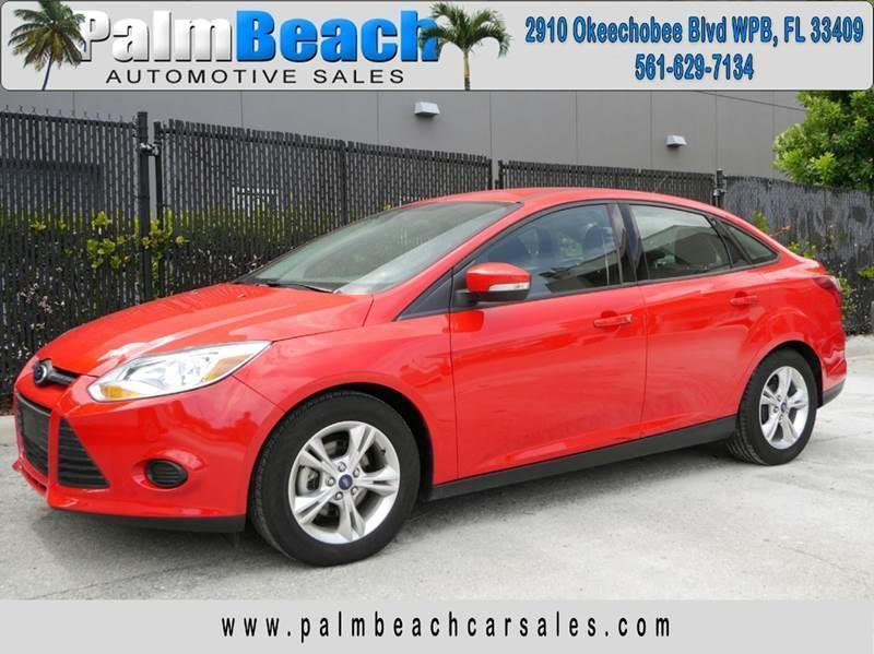 2014 ford focus se 4dr sedan west palm beach fl - Ford Focus 2014 Sedan Red