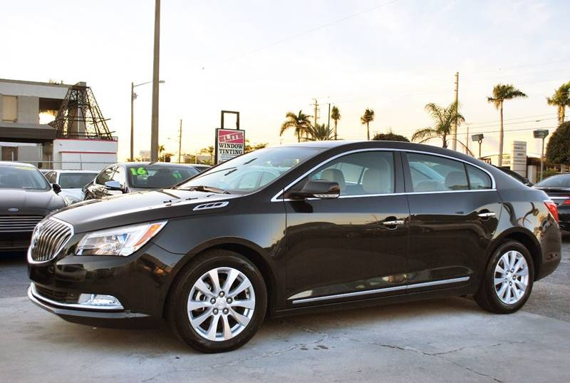 2015 Buick LaCrosse for sale at Palm Beach Automotive Sales in West Palm Beach FL