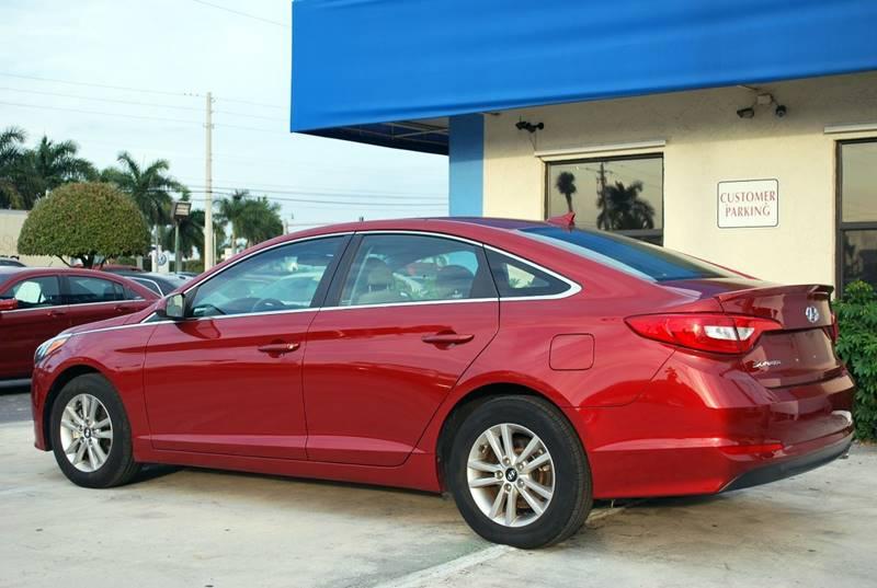 2015 Hyundai Sonata for sale at Palm Beach Automotive Sales in West Palm Beach FL