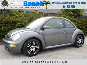 2002 Volkswagen New Beetle for sale in West Palm Beach, FL